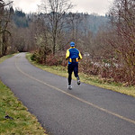 Ultra-Marathon training, Week-5. Foothills Trail, heading back to Orting. The chi form is evident. From the first strides this morning, I fell into controlled fall, forefoot planting, short  ...
